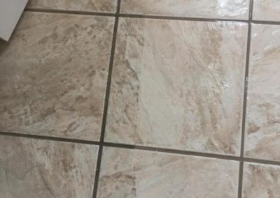 Ceramic and grout